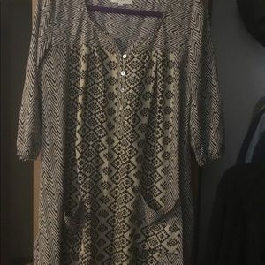 Tunic or Dress size Small